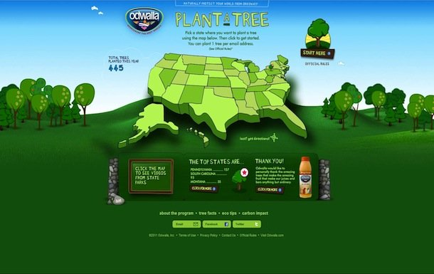 2011 Odwalla Plant a Tree