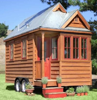 Review The Small House Book also Treehouse Living The Ultimate In Off Grid Privacy Security And Views moreover Wire Inlay likewise Wel e aboard your repurposed train car home further Small House Plans Under 500 Sq Ft 3d. on living tiny house design