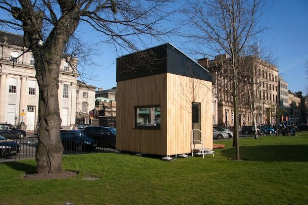 The Cube Project A Net Zero Tiny House