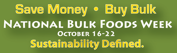 National Bulk Foods Week