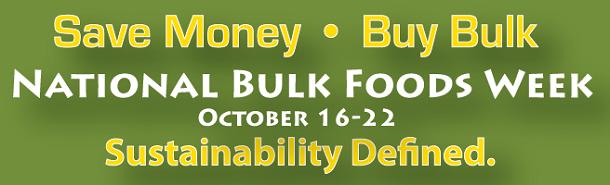 National Bulk Foods Week