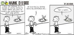 Hank D and the Bee: A Season of Giving