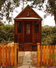tiny house wood