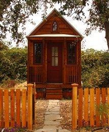 tiny house wood