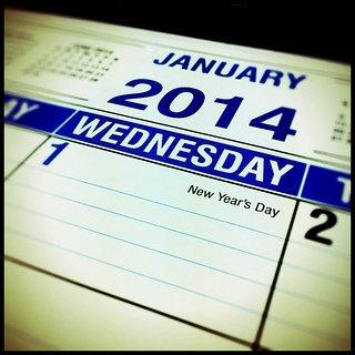 2014 Happiness Calendar
