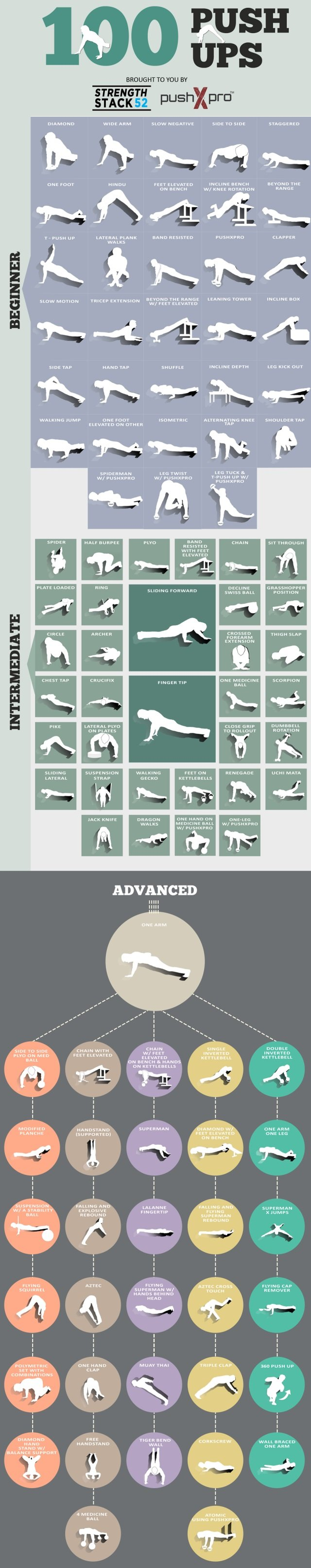 push-up variations