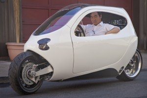 This electric motorcycle/car could be the future of transportation