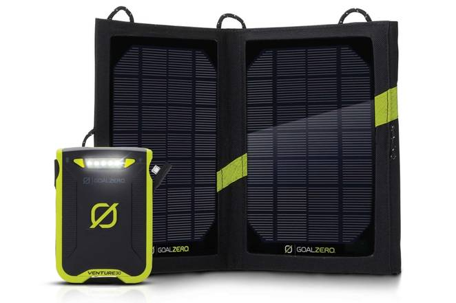Goal Zero Venture 30: Rugged waterproof power pack & solar charger