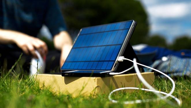 Solartab Portable Solar Charger & Battery Review