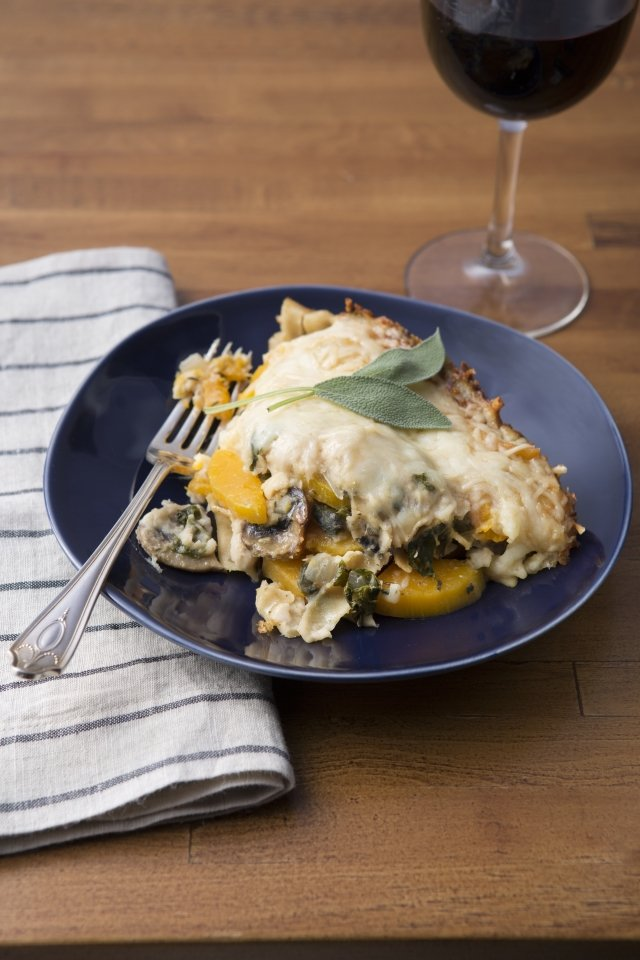Slow Cooker Recipe: Butternut Squash Lasagne Bake