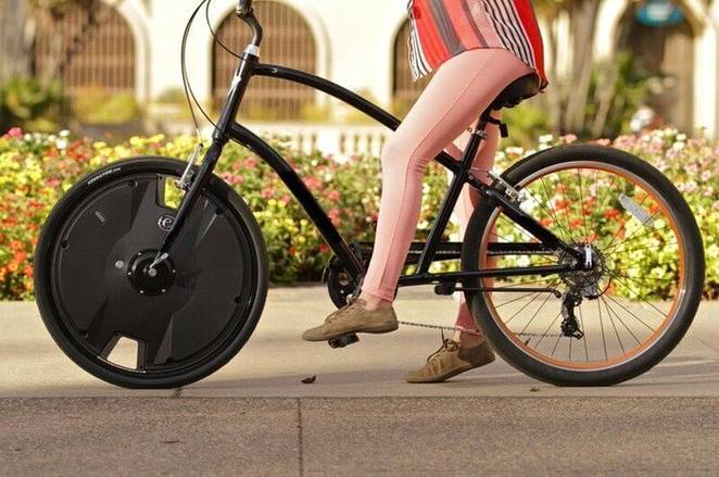 Electrify your bike in 30 seconds with this $800 drop-in e-bike wheel