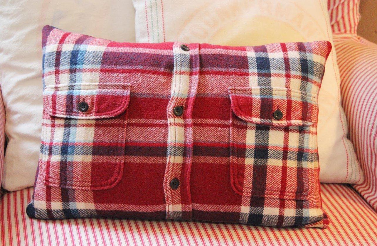Сшить чехол на подушку с молнией своими руками
