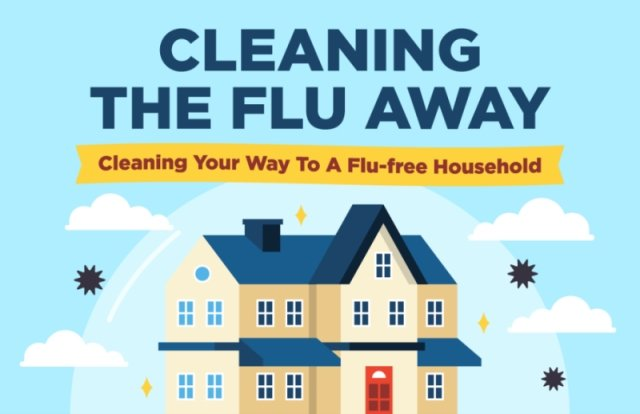 Clean your way to a flu-free household