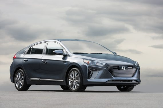 Behind the Wheel: 2017 Hyundai Ioniq Hybrid & Electric