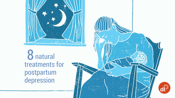 Postpartum Depression: 8 Natural Treatments