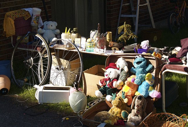 Autumn Is an Excellent Time To Have a Garage Sale