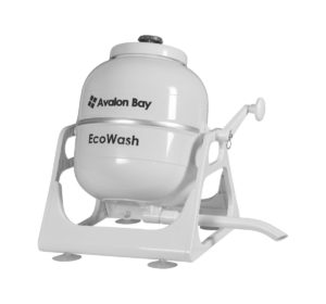 Before Grandma Had Fully Electric Appliances To Help With The Housework,  She May Have Had Something Like The Avalon Bay EcoWash Portable Washing  Machine.