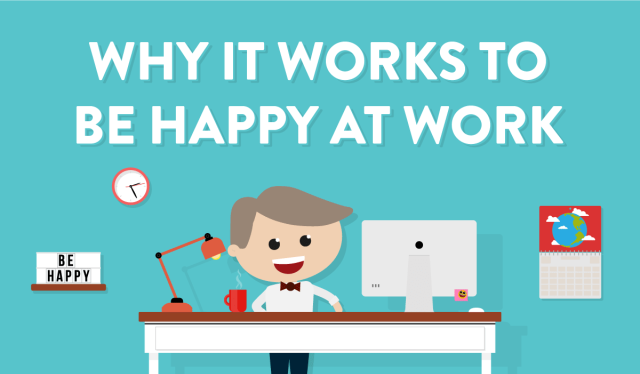 Why it works to be happy at work