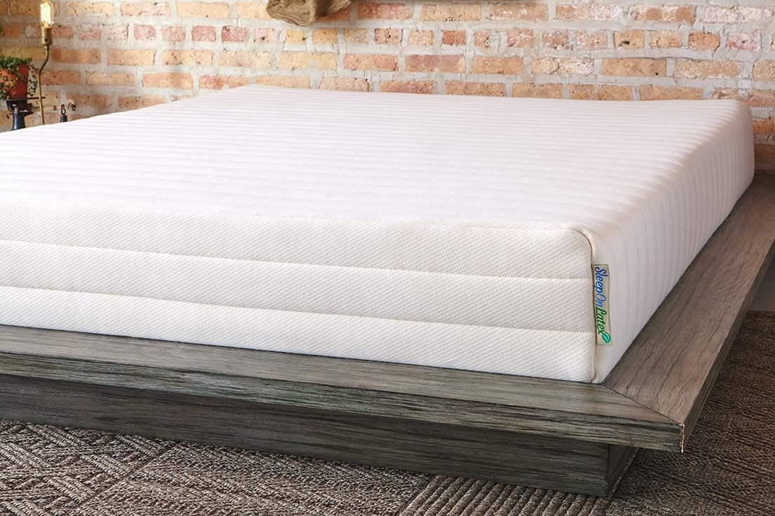 Sleep on Latex 100% natural latex mattress