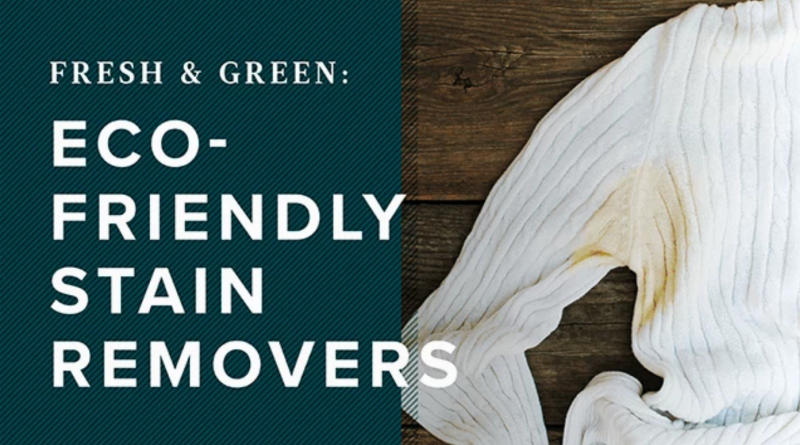 Eco-Friendly Stain Removal Hacks for Your Clothes